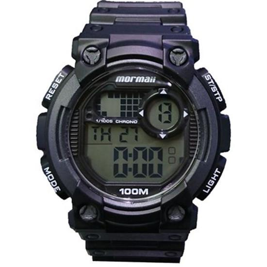 2f4128ba0d455 Relógio Mormaii Digital Preto Masculino MOY1587 8C
