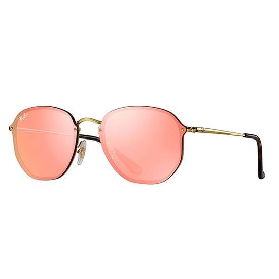 af7d01913e707 Óculos de Sol Ray Ban Hexagonal RB3579N-001 E4 58