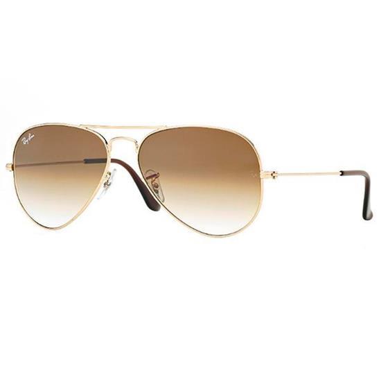 cde2a8a64 Óculos de Sol Ray Ban | Óculos de Sol Ray Ban Aviador RB3025L-001/51 55