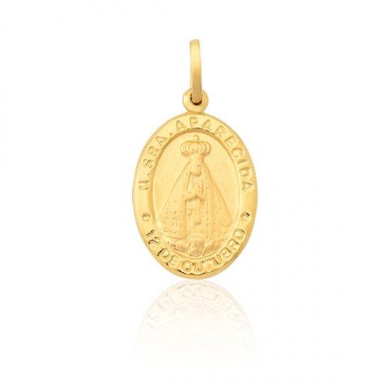 addf1bc2c0bbb Pingente Nossa Senhora Aparecida em Ouro 18k