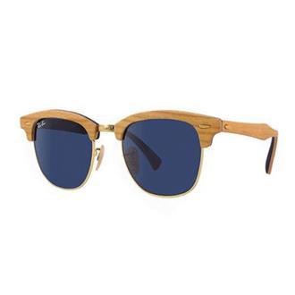 78a01b66fa4fa Óculos de Sol Ray Ban Clubmaster Wood RB3016M-1180R5