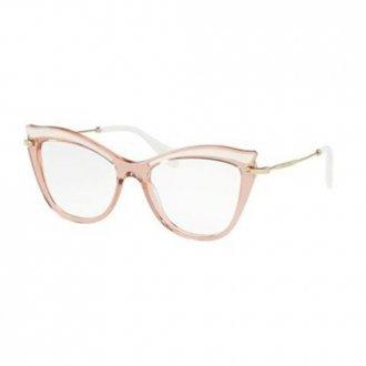 0673b1eac8f7e Óculos de Grau Feminino Miu Miu MU06PV-VH01O1 53