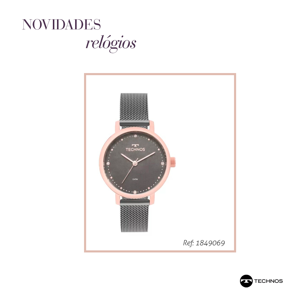 7d2deadf166 Novidades e tendências em relógios