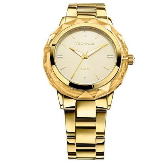33af90733fc Relógio Technos Elegance Crystal Swarovski 2035MCM 4X
