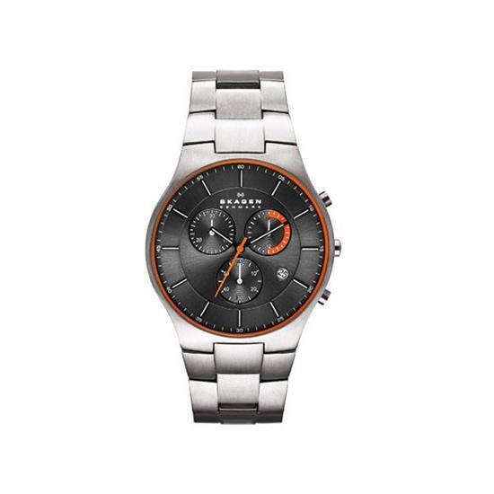 fb9d33f699e78 Relógio Skagen Masculino Slim Titânio SKW6076 1PN