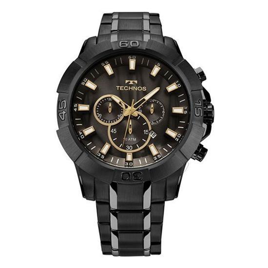 86e805f8490 Relógio Technos Legacy Cronógrafo JS26AG 4P