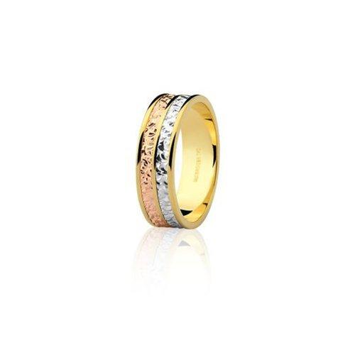 322481e95d741 Alianças Safira   Aliança em Ouro Amarelo, Branco e Rosé 18k Sem ...