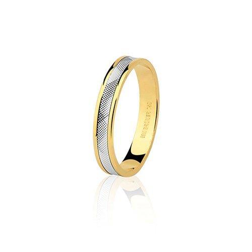 3a1c90badeed1 Alianças Safira   Aliança em Ouro Amarelo Branco 18k Sem Diamante