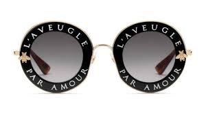Óculos de Sol Feminino Gucci   Óculos de Sol Feminino Gucci GG0113S-001 896efb2264