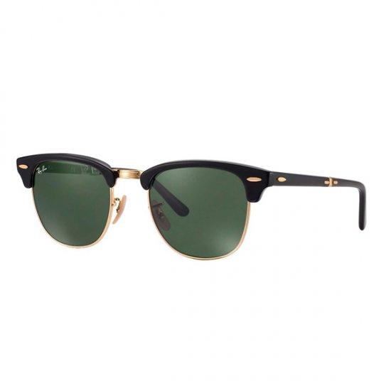 Óculos de Sol Ray Ban Clubmaster Dobrável RB2176-901 594ef1ba6c