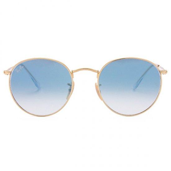 9f15443ac290a Óculos de Sol Ray Ban Round Metal RB3447N-001 3F 53