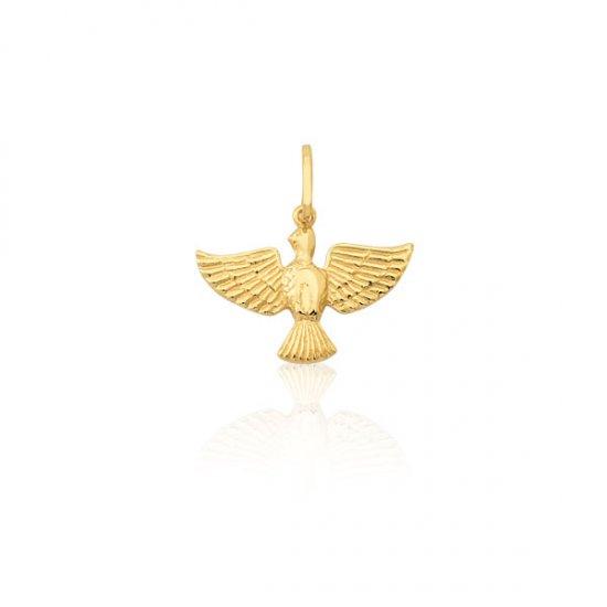 13841eec4cc37 Pingente Espírito Santo em Ouro 18k
