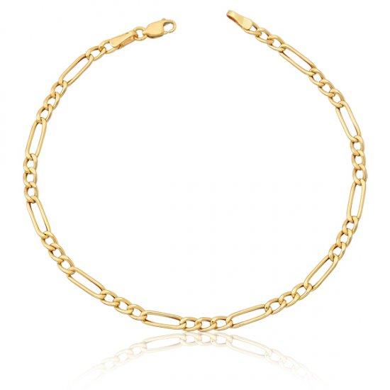 Correntes Safira   Corrente Torsaide 40 cm em Ouro 18k 9b762a503e
