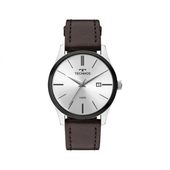 a09af04112f0b Relógio Masculino Technos   Relógio Technos Steel Prata 2115MPP 1K