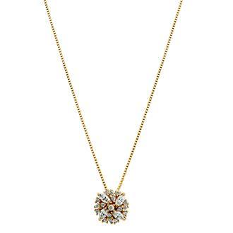 Gargantilha Ouro 18k com 17 Pontos de Diamante 5af75fd6fd