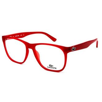 Óculos Vermelho - Lacoste - Masculino 746f3905d0