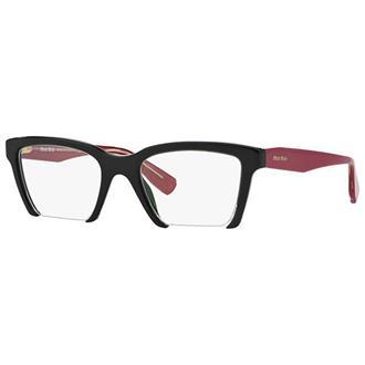 Óculos de Grau Miu Miu MU04NV-1AB1O1 b4fee84628