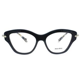 Óculos de Grau Miu Miu MU07OV-1AB1O152 cf4a253ada