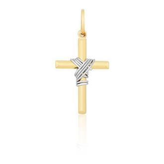 Pingente Crucifixo em Ouro 18k ef78a57391