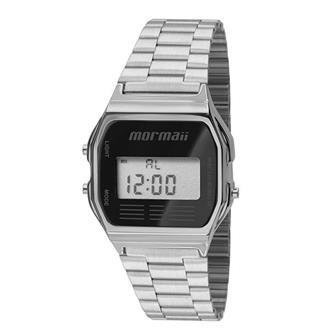 a20265156e0 Relógio Mormaii Vintage Digital Prateado MOJH02AA 3P