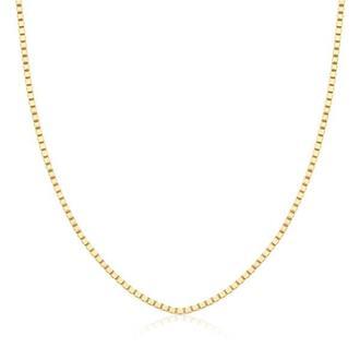 Corrente Veneziana 40 cm em Ouro 18K e251814e3e