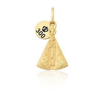 Pingente Proteção - Material  Ouro Amarelo 18K 8345c74da4