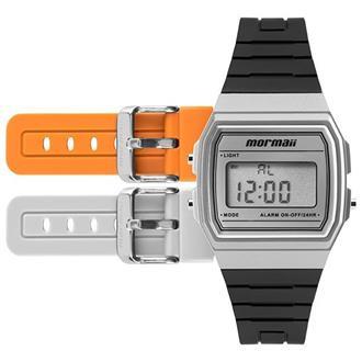 70d968bff1c Relógio Infantil Troca Pulseira Mormaii MOJH02AG 8K