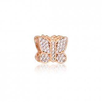 ae080b6702da0 Memory - Feminino - Material  Prata 950 banho Ouro Rosé - Pedra ...