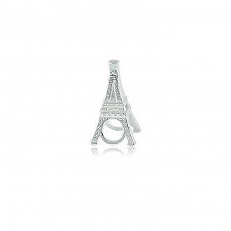5f8120c7e05c3 Berloque Memory Torre Eiffel em Prata