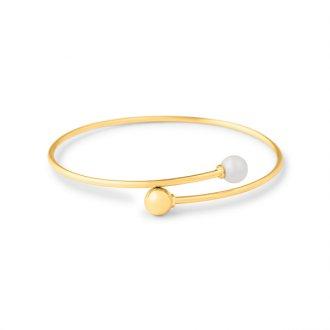 c6c34d24a30e4 Bracelete - Feminino - Material  Ouro Amarelo 18K - Pedra  Pérola