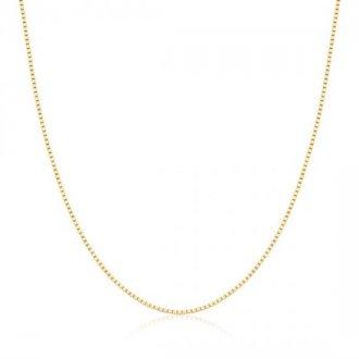 Corrente Veneziana 40cm em Ouro 18k 4a79c9c427