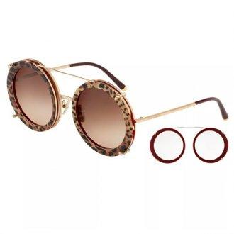550e88c7016fb Óculos de Sol Dolce   Gabbana 3 em 1 DG2198-131813 63