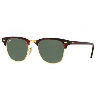 116e15dd16b2e Óculos de Sol Ray Ban Clubmaster RB3016-W0366