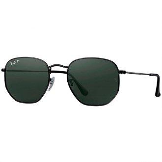 7223a560609f0 Óculos de Sol Ray Ban Hexagonal RB3548N-002 58 54