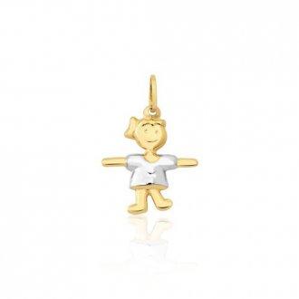 bc2ea1ab0f8c9 Pingentes - Safira - Material  Ouro Branco 18K