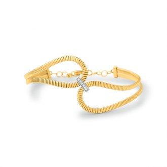cf97ef77538ef Pulseiras - Safira - Feminino - Material  Ouro Amarelo 18K - Pedra ...