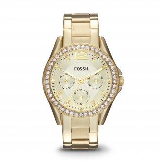 4ffff172836 Relógio Feminino Fossil Riley Analógico ES3203 4DN
