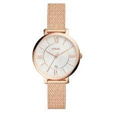 5bcf025fdb0 Relógio Feminino Fossil Ladies Jacqueline Rosé ES4352 1DN