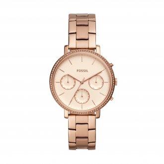 43e9f6dff51 Relógio Feminino Fossil Sylvia Rosé ES4436 1JN