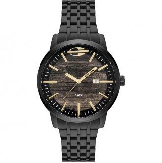 0e207b8da14 Relógio Mormaii Wood Prata MO2115BF 4M