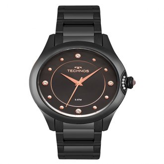 920ff429299 Relógio Technos Crystal Preto 2035MPZ 5P