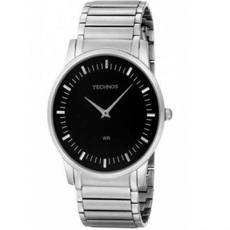 fe10f4c2440 Relógio Technos Slim GL20AH 1P