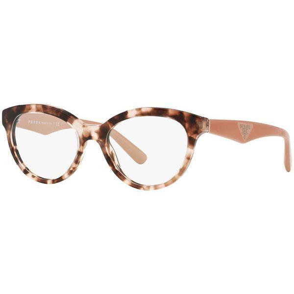 b5f6e9ea2ccf1 Óculos de Grau Feminino Prada PR11RV-ROJ1O1