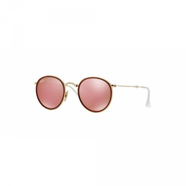 05d4bb892c956 Óculos de Sol Ray Ban Round RB3517-001 Z2