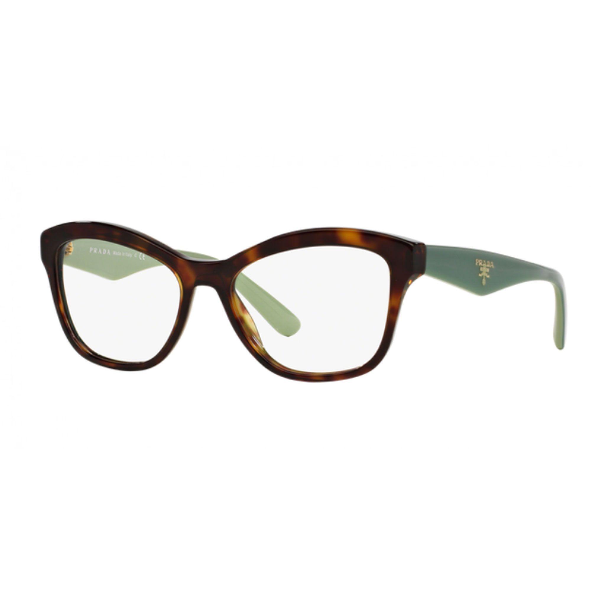 31c372b9a4b0e Óculos de Grau Feminino Prada PR29RV-2AU1O1