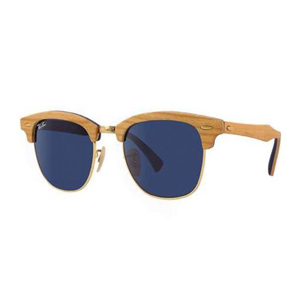 51692e2c0f622 Óculos de Sol Ray Ban   Óculos de Sol Ray Ban Clubmaster Wood ...