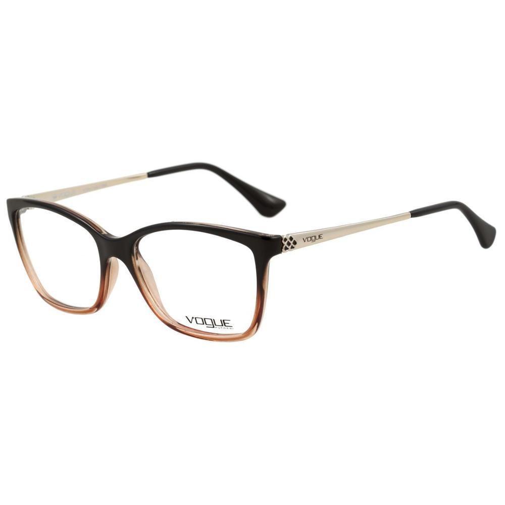 56f27e30f3a89 Óculos de Grau Feminino Vogue VO5043L-2383 54