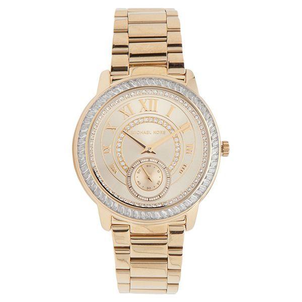 6bc2547239a7d Relógio Feminino Dourado Michael Kors MK6287 4DN