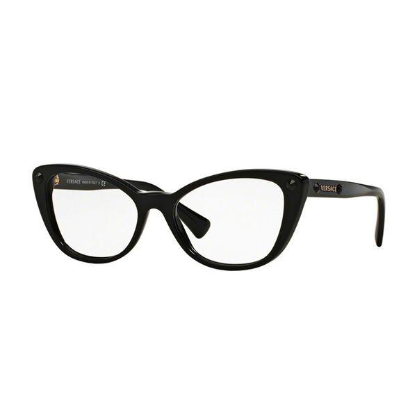 78d8f9bcd060d Óculos de Grau Versace VE3222B-GB1