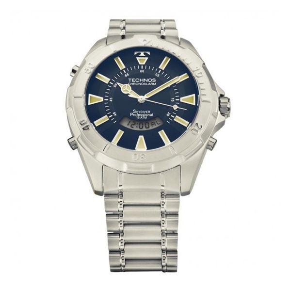 3856874dca515 Relógio Technos Skydiver T205FM 1A